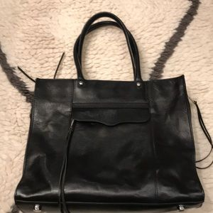 Rebecca Minkoff MAB Tote black leather